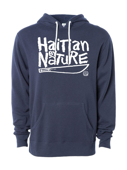 Hispaniola Port & Trade Company HBN Since 1804 Navy White Hoodie