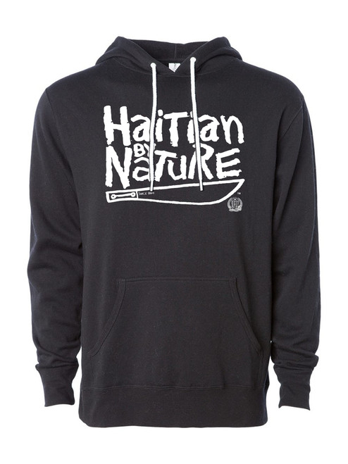 Hispaniola Port & Trade Company HBN Since 1804 Black White Hoodie