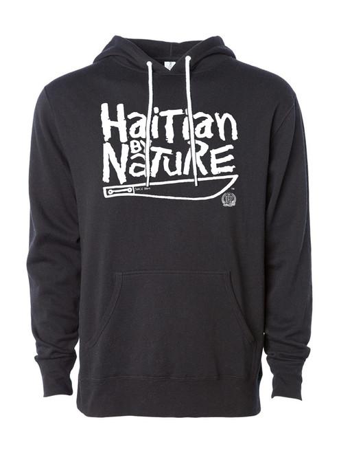 Hispaniola Port & Trade Company HBN Since 1804 Black White Hoodie
