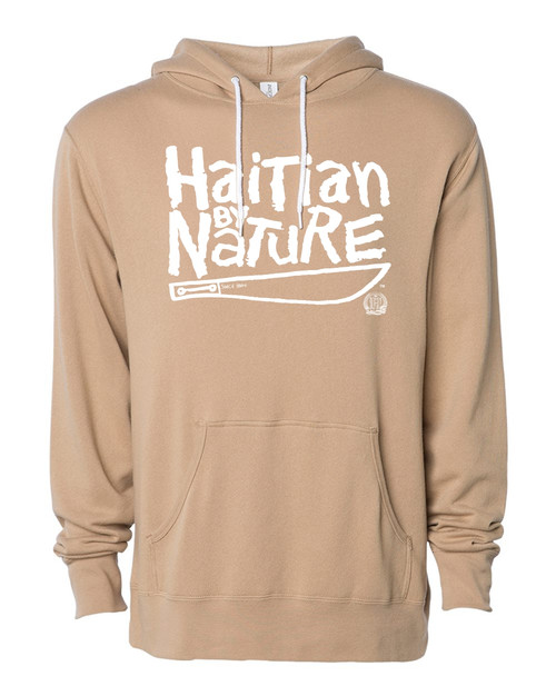 Hispaniola Port & Trade Company | H.B.N Since 1804 Unisex Sand White Hoodie
