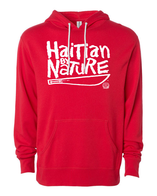 Hispaniola Port & Trade Company | H.B.N Since 1804 Unisex Red White Hoodie