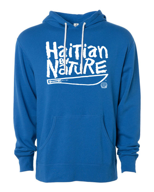 Hispaniola Port & Trade Company | H.B.N Since 1804 Unisex Royal White Hoodie
