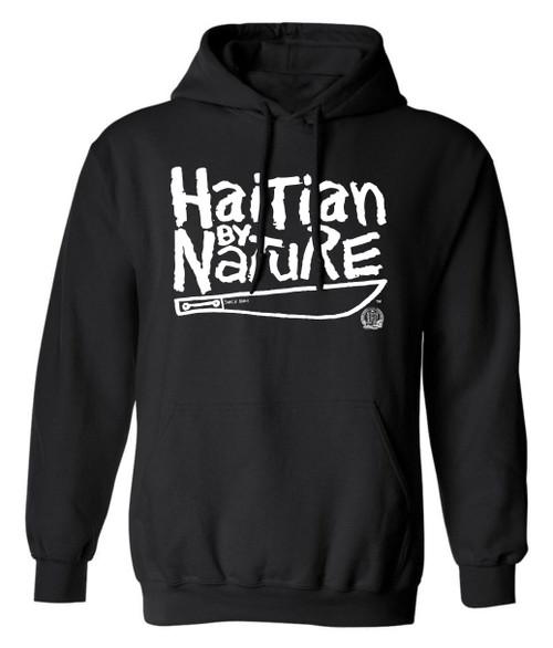 Hispaniola Port & Trade Company | H.B.N Since 1804 Unisex Black White Pullover Hoodie