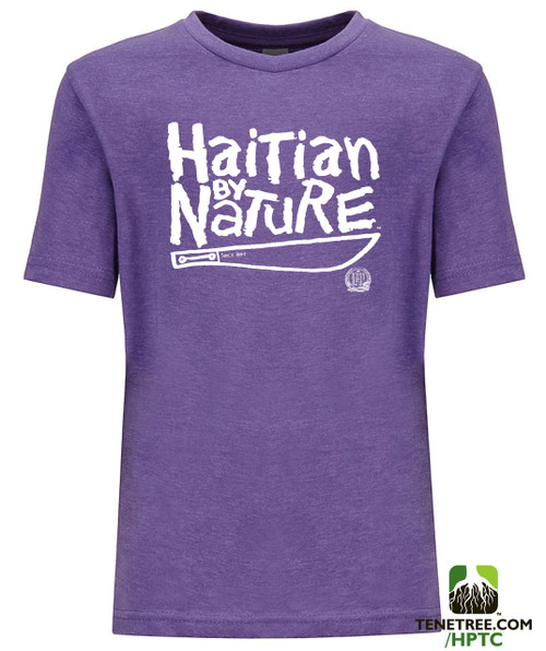Hispaniola Port & Trade Company HBN Since 1804 Crew Heather Purple Youth