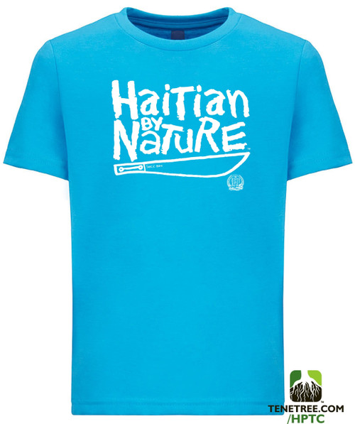 Hispaniola Port & Trade Company HBN Since 1804 Crew Turquoise Youth