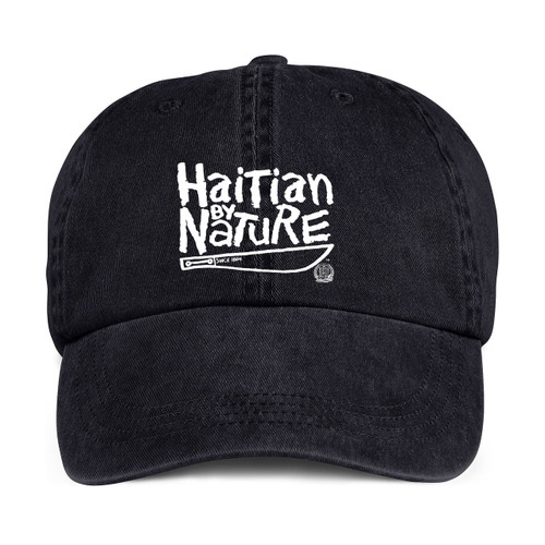 "Hispaniola Port & Trade Company | ""Haitian By Nature"" Black Cap"