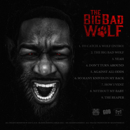 MG Da BadGuy - The Big Bad Wolf  (Back Cover)