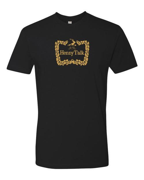 UGTV - Henny Talk O.G Tees Black Gold Front