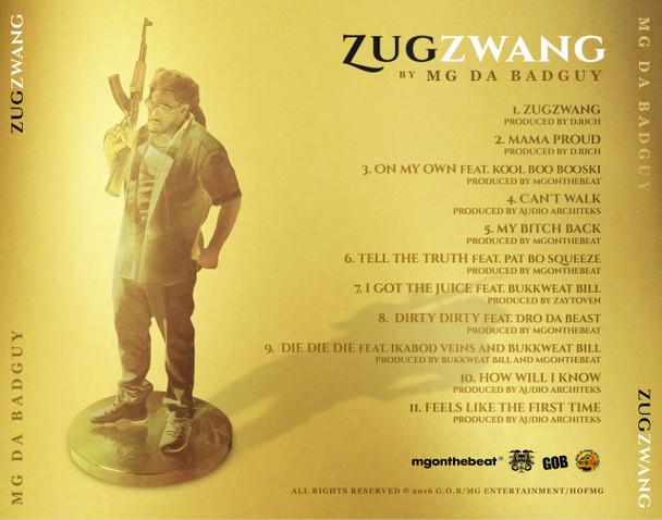MG Da BadGuy | Zugzwang (Album) [Digital Download]
