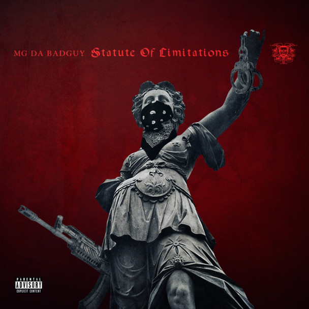 MG Da BadGuy - Statute of Limitations Album Cover Art