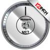 Numark NS7 MK1 Platter  Skinz (PAIR) - Metallics