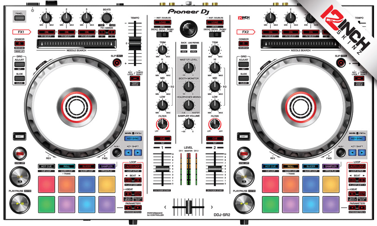 Pioneer DDJ-SR2 Skinz - Colors