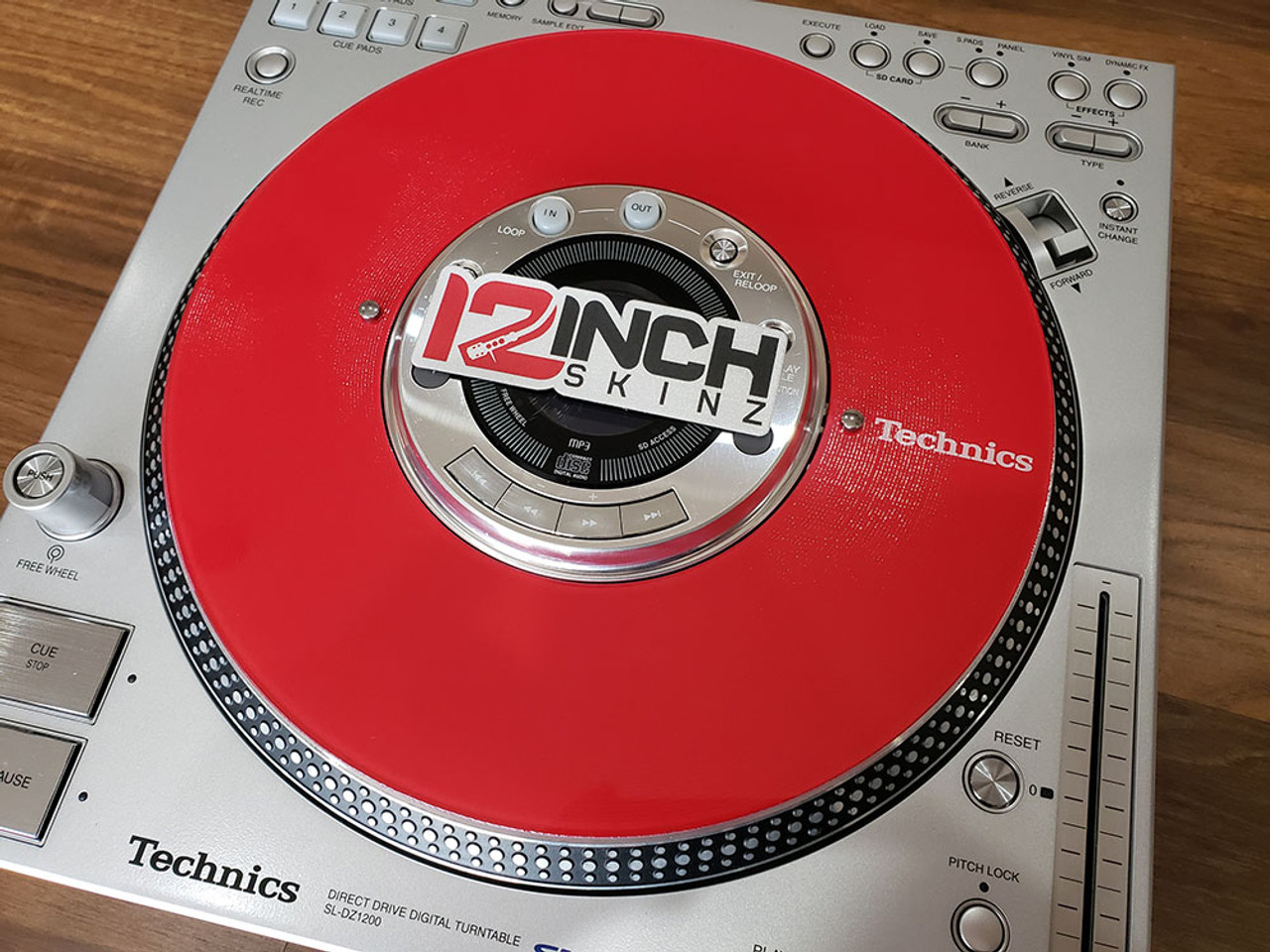 Technics SL-DZ1200 Control Disc  (SINGLE) - Technics Cue Colors