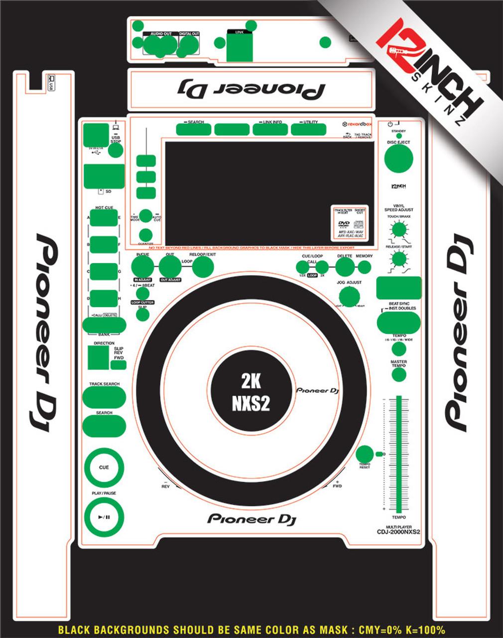 Pioneer CDJ-2000nxs2-Skinz- CUSTOM