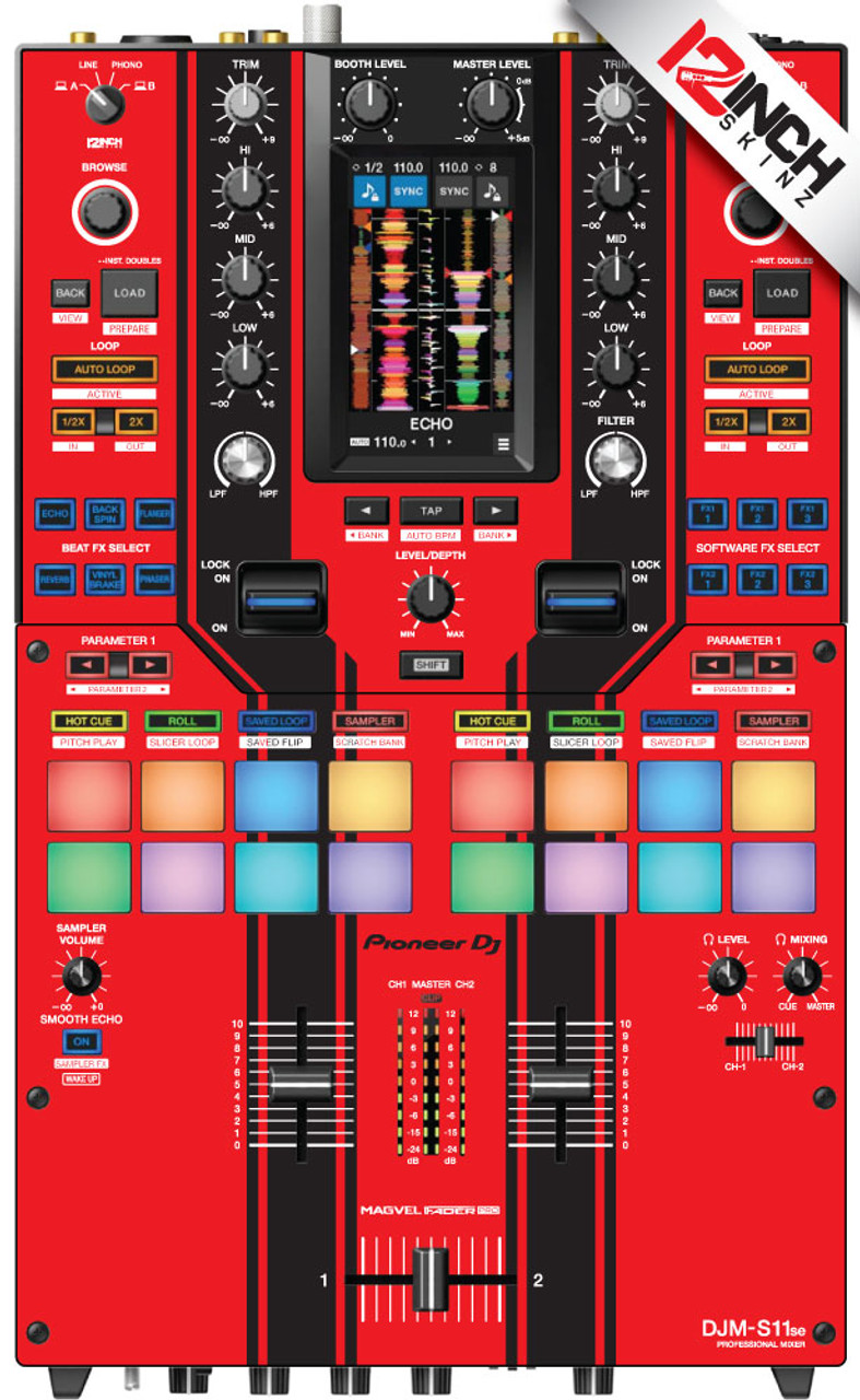 Pioneer DJM-S11 Skinz - Special Edition Colors