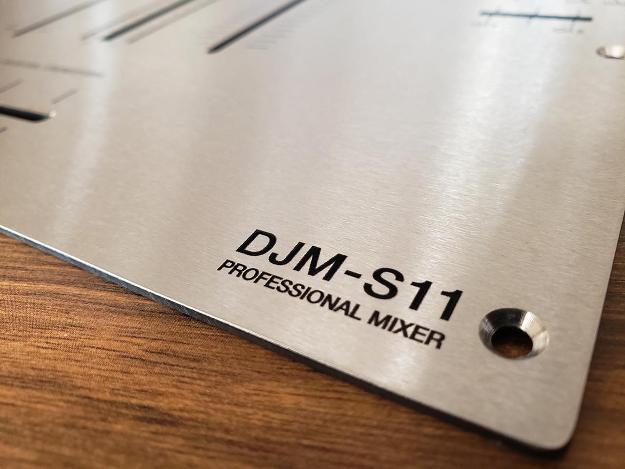 Pioneer DJM-S11 Stainless Steel Fader Plate
