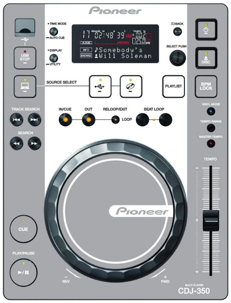 Pioneer CDJ-350 - Gray