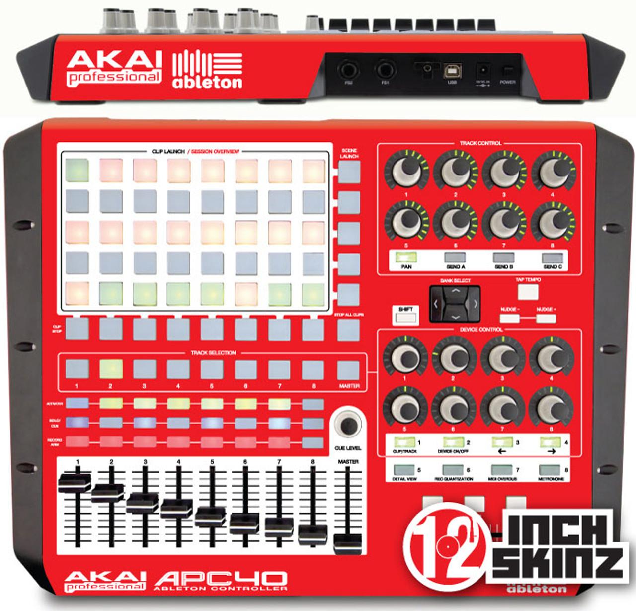 Akai APC40 Skinz - COLORS