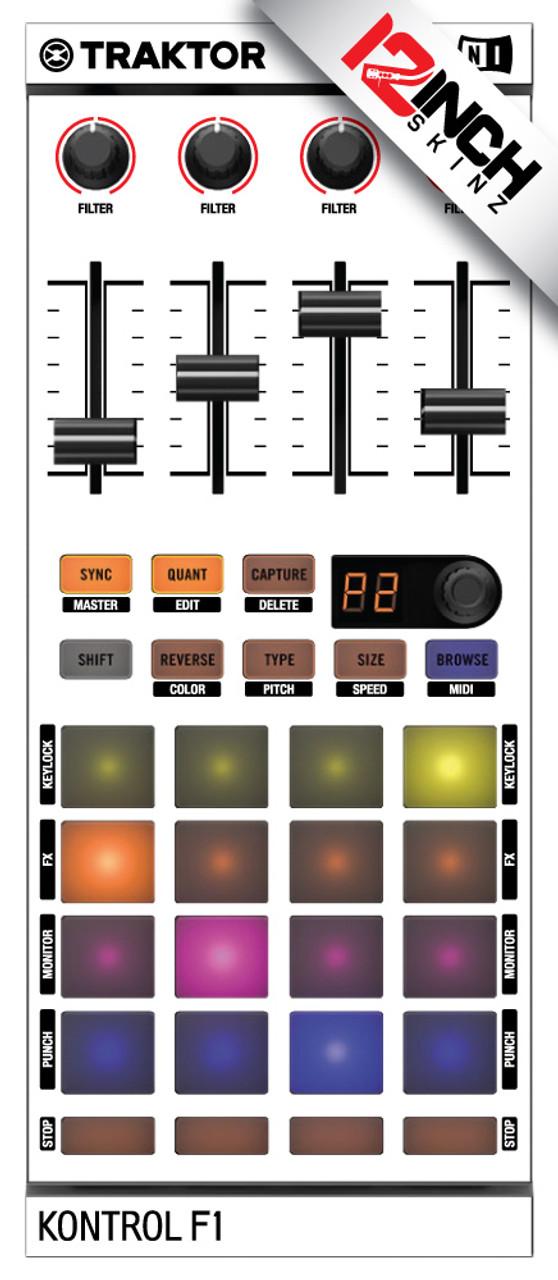 Native Instruments Kontrol F1 Skinz - Colors