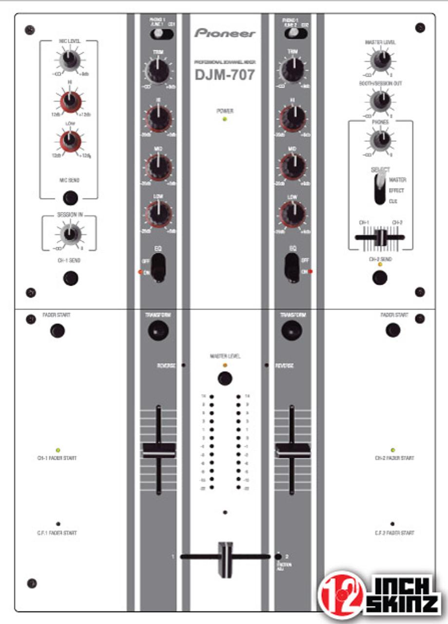 Pioneer DJM-707 Skinz - Colors