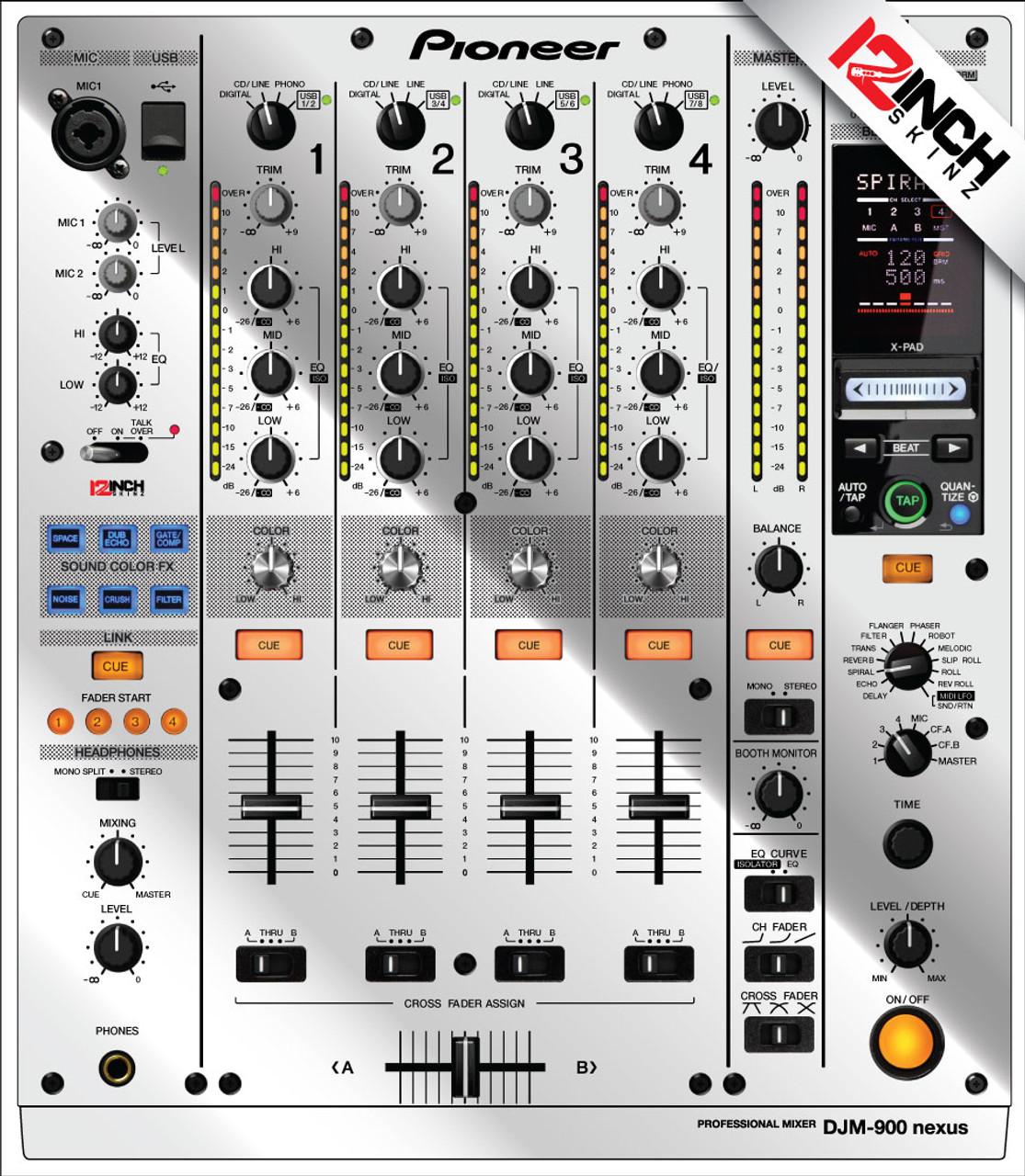 Pioneer DJM-900NEXUS Skinz - Metallics