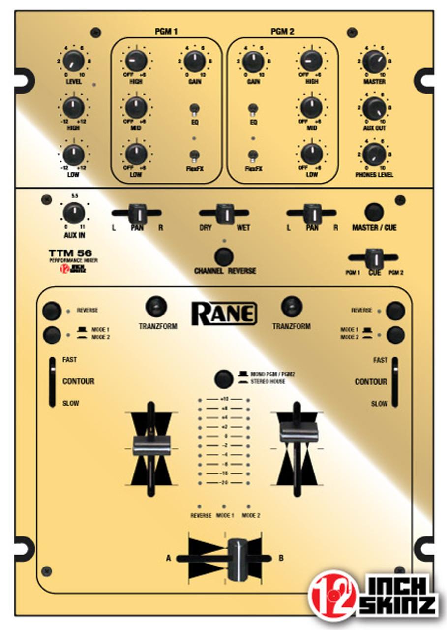Rane TTM56 Skinz - Metallics