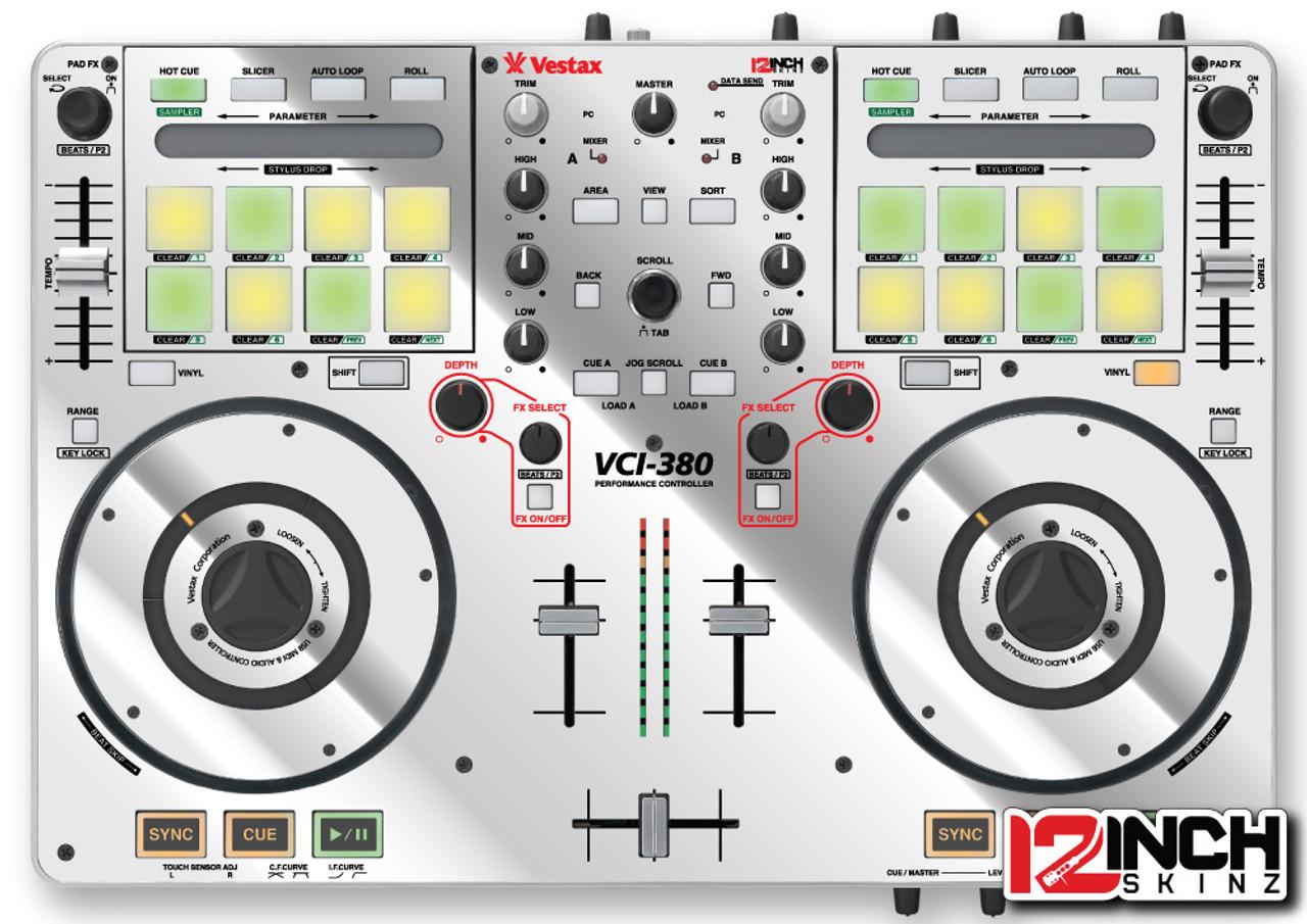 Vestax VCI-380 Skinz - Metallics