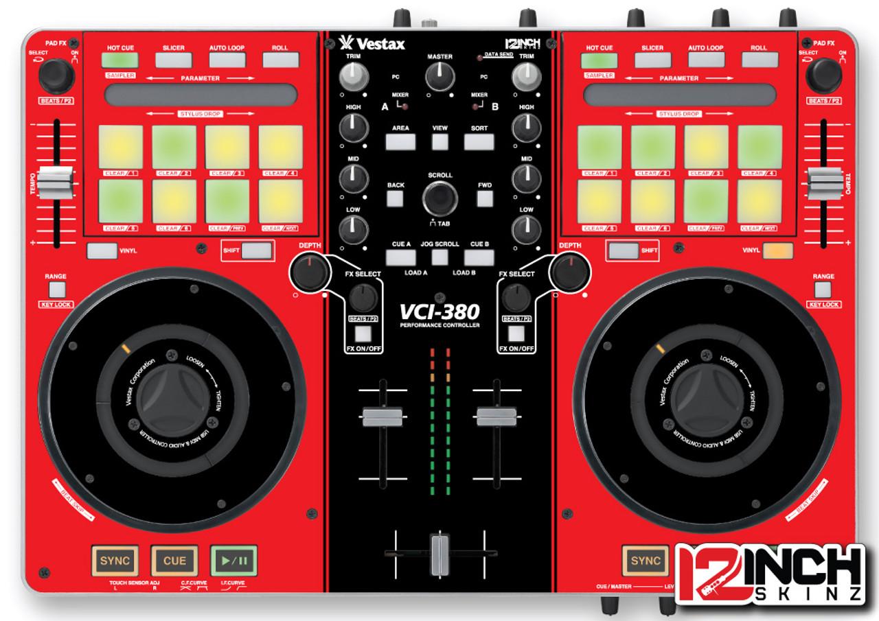 Vestax VCI-380 Skinz - Colors