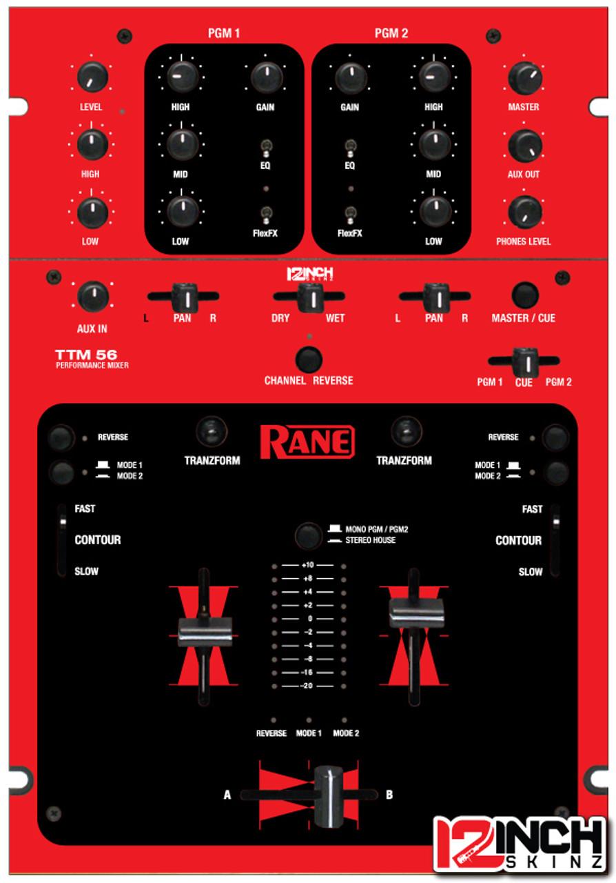 Rane TTM56 Skinz - Colors