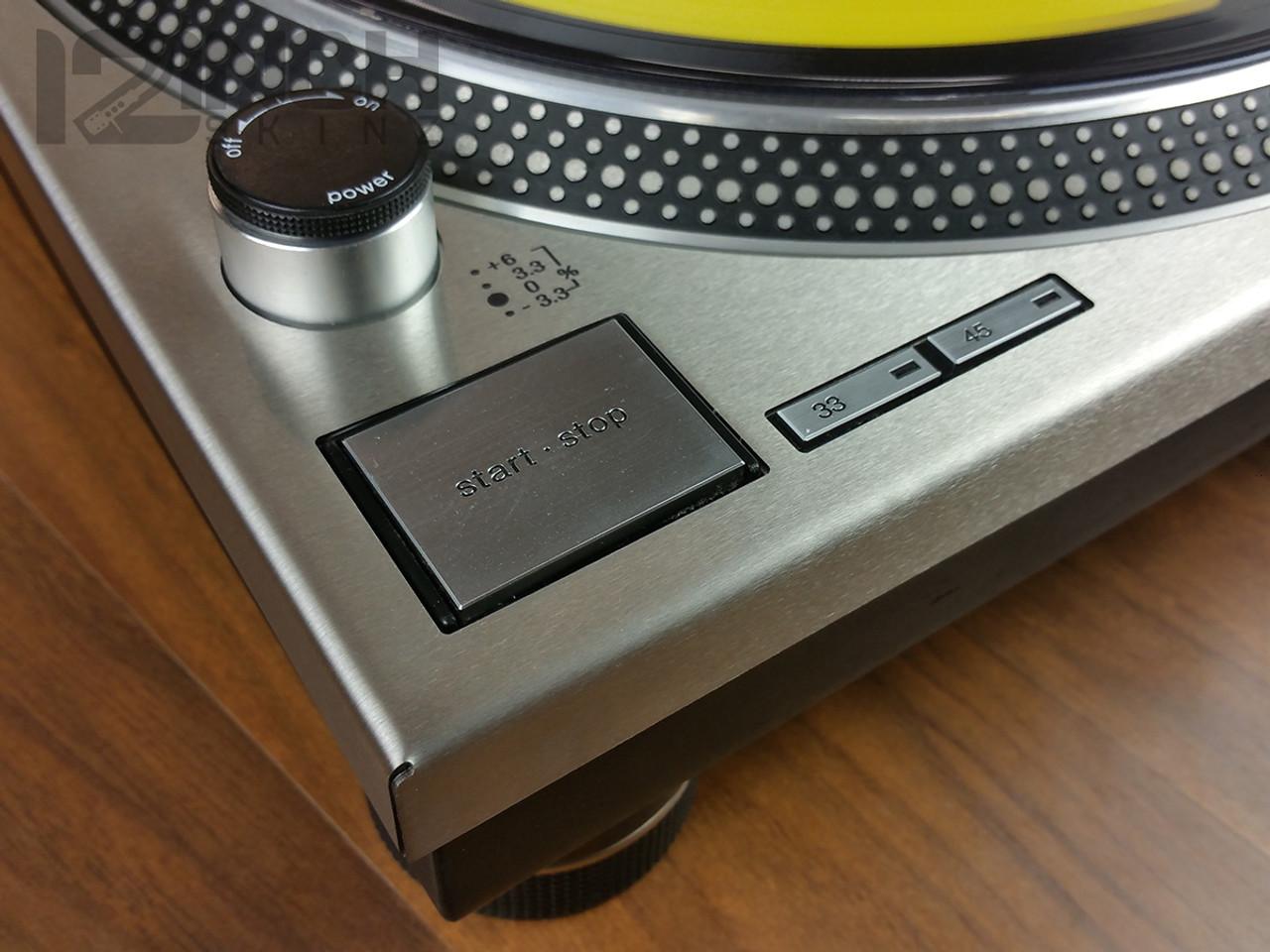 Technics 1200 Stainless Steel Plate (SINGLE)
