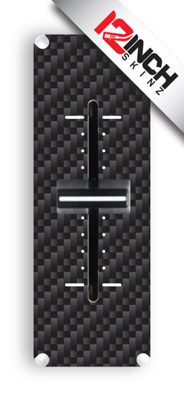 Mixfader Skinz (pair)- CARBON FIBER (print)