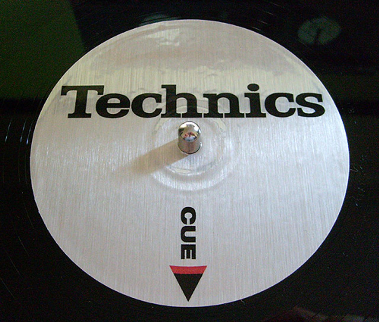Custom Control Vinyl Labels (BRUSHED METALLIC)