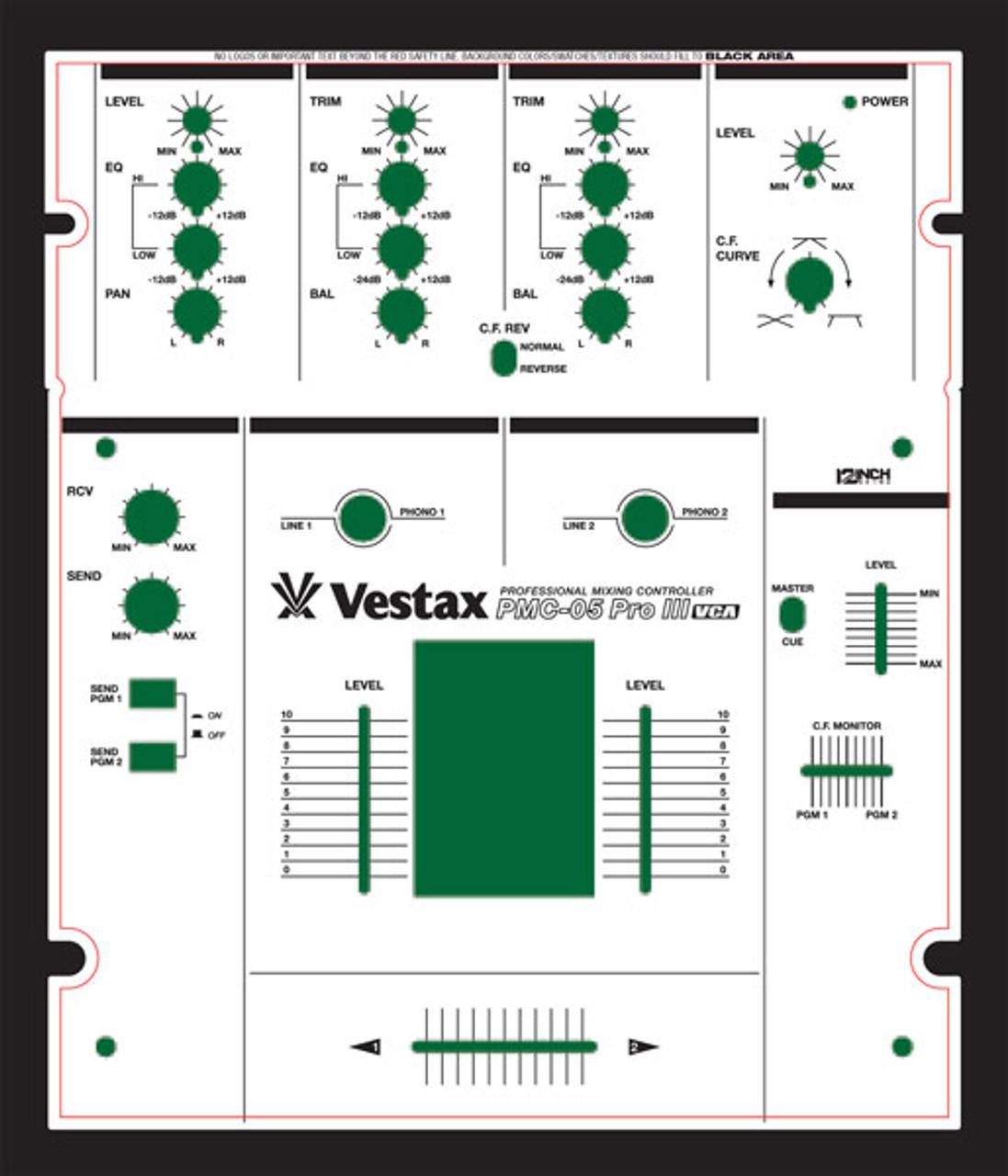 Vestax PMC-05Pro Skinz - Custom