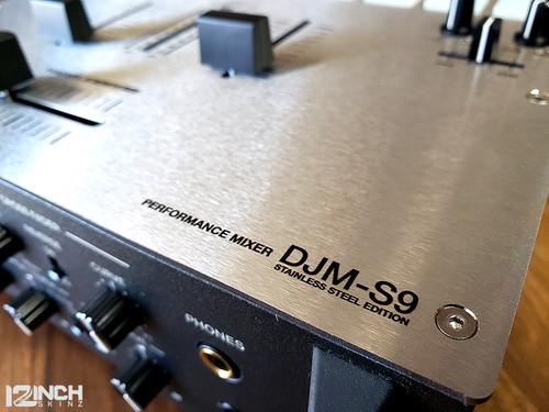 Pioneer DJM-S9 Stainless Steel Fader Plate