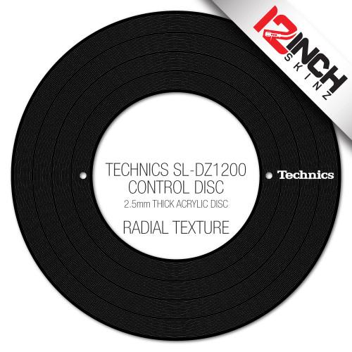 Technics SL-DZ1200 Control Disc  (SINGLE) - Technics Cue Colors
