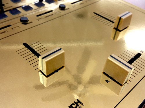 Pioneer DJM-S9 Knob & Skinz Kit - Metallic