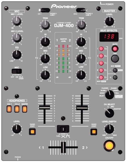 Pioneer DJM400- Gray