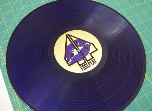 Dj Forplay -  Brushed Gold on Purple Serato Control Vinyl