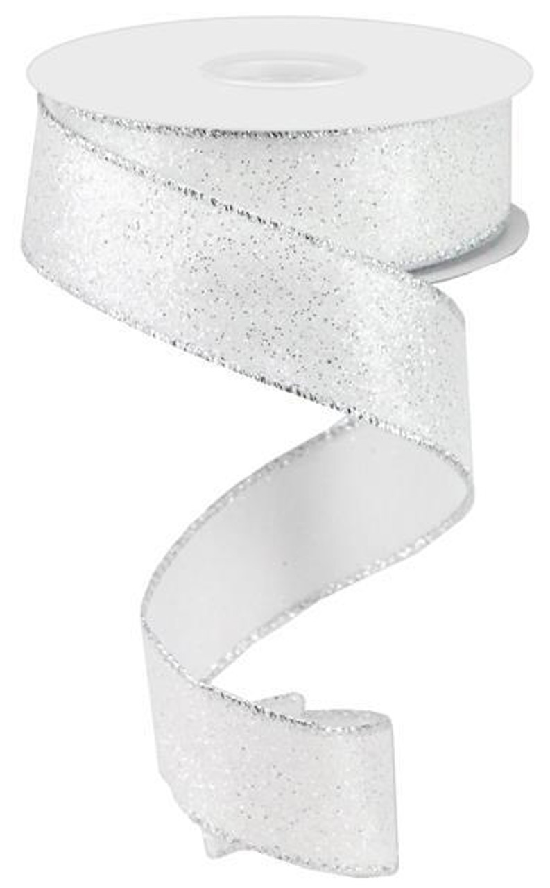 Luxurious Glitter Tinsel Ribbon RBX1029-09-M per 5 metre roll