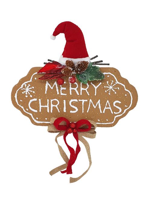 Merry Christmas Cookie Sign