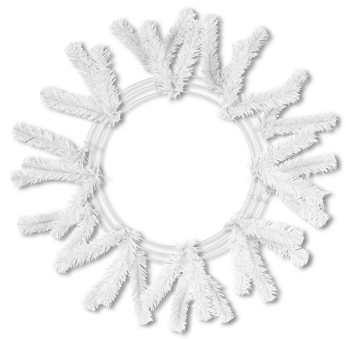 Work Wreath - White (XX748827)