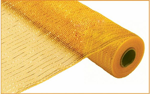 """Metallic Gold/Brown with Bright Gold Foil - 21"""" X 10Yd"""