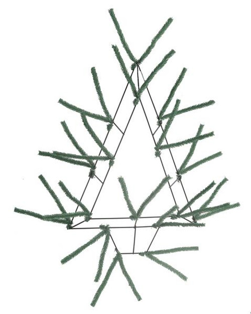 "20"" Pencil Open Tree Work Form Green"