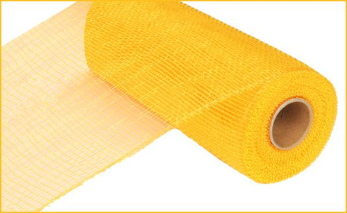 """10"""" Deco Poly Mesh: Two Tone Yellow/Gold"""
