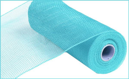 "10"" Deco Poly Mesh: Turquoise"