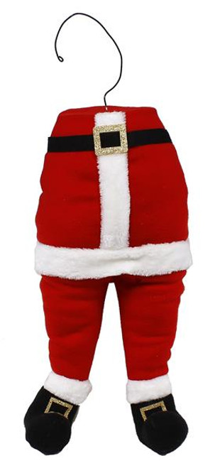 "22"" Santa Bottom Decor"