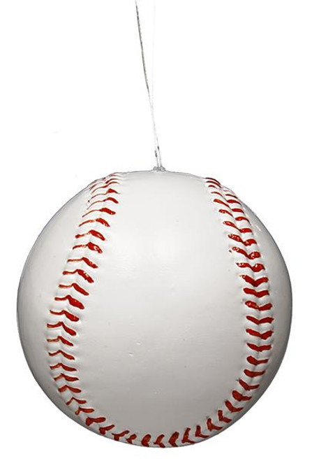 "3"" Painted Baseball Ornament"