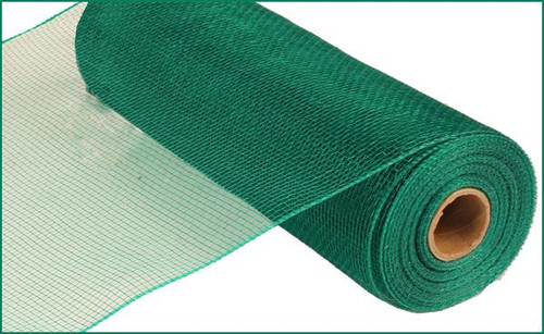 "10"" Deco Poly Mesh: Emerald Green"