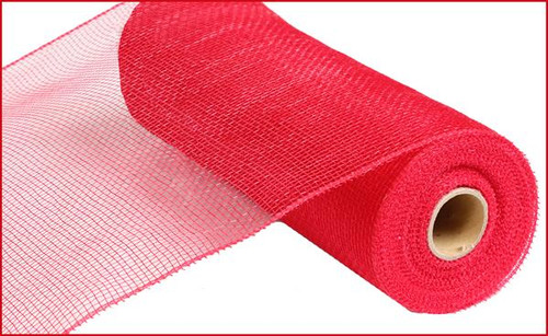 "10"" Deco Poly Mesh: Red"