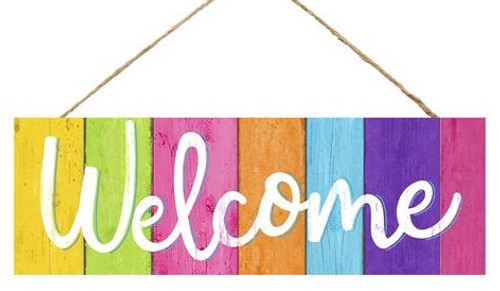 "15"" Summer Sign: Welcome"